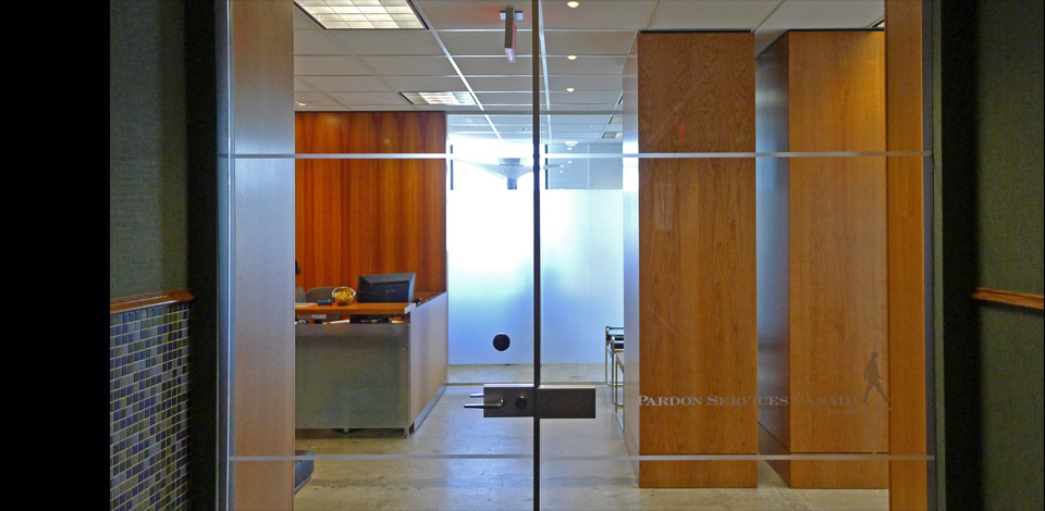 <p>Pardon Services Canada - Office Interior- Vancouver</p><p>A 2,500 sq ft office for a legal company. Completed in 2013.</p>